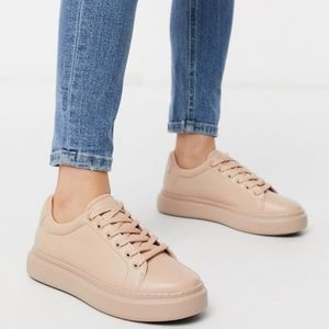 ASOS DESIGN Doro Chunky Lace up Sneakers